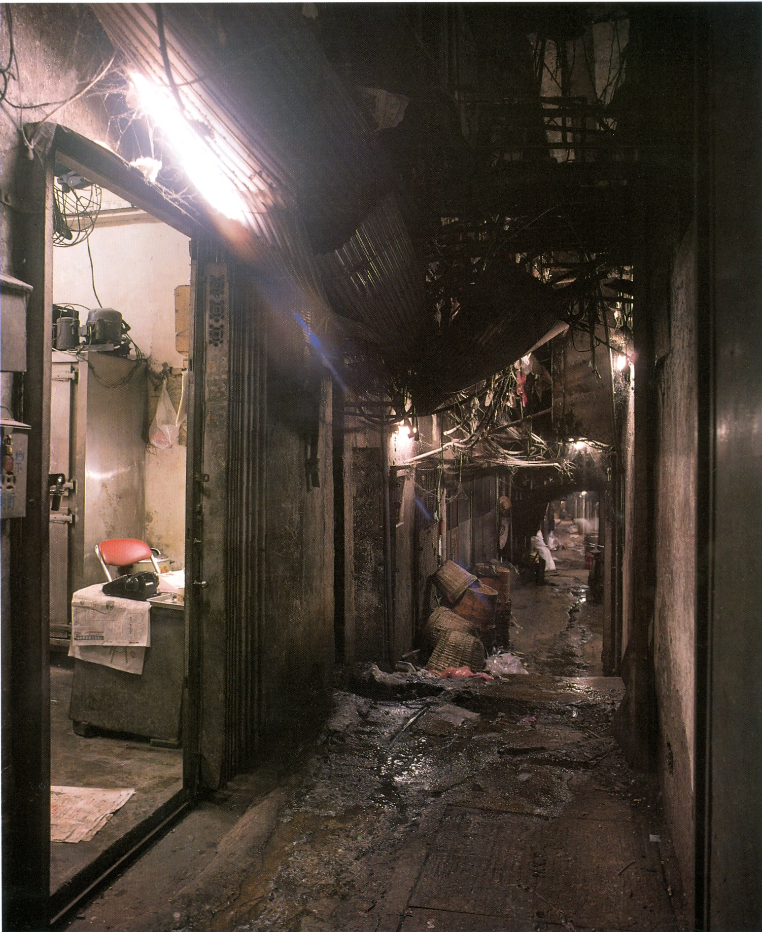 Self-organisation: the case of Kowloon Walled City ...